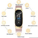 UWatch Смарт часы Smart Victory Band Pro Beige, фото 4
