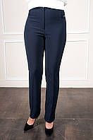 Классические брюки Фелиция синие батал, фото 1