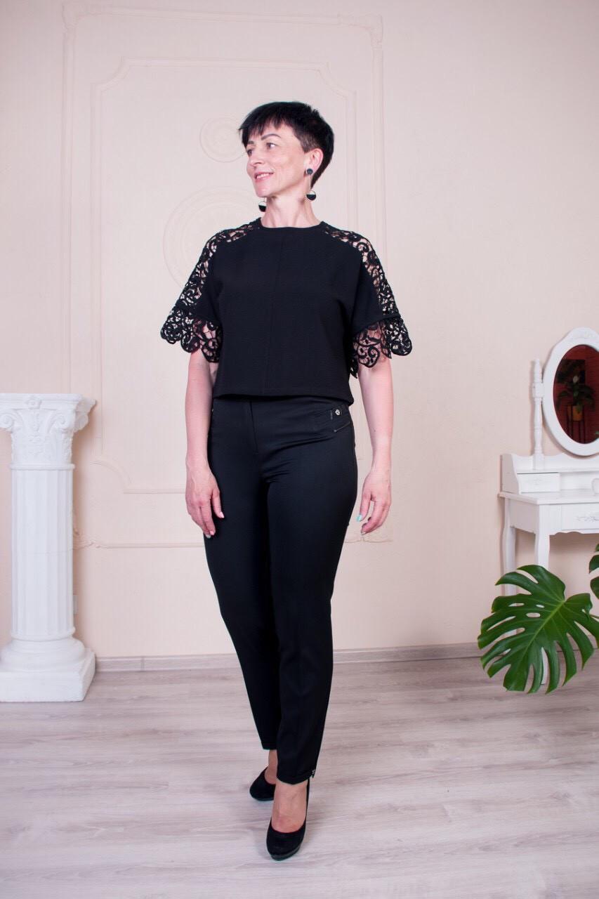 Стильные брюки Молли чёрного цвета