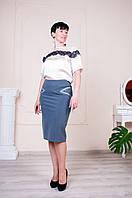 Юбка Сабина синего цвета №2, фото 1