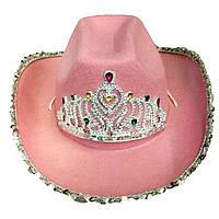 Шляпа Ковбойка (розовая) 290316-007