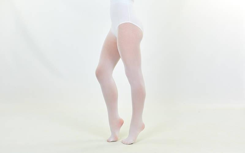 Колготки для танцев и балета белые SP-Planeta CO-2070 8-14лет, рост 140-160