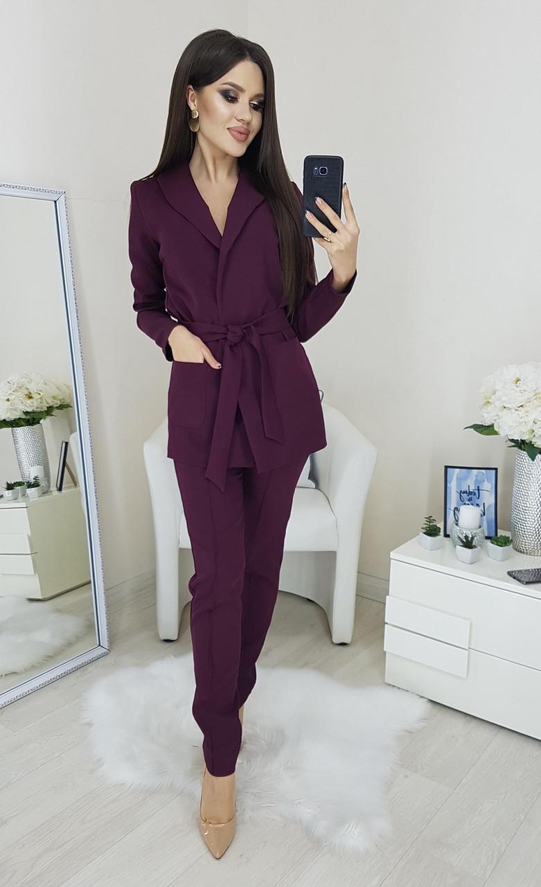 Женский брючный костюм кт258