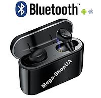 Беспроводные Bluetooth наушники Air Pro TWS X8 NEW Black с кейсом для зарядки Box 2200 мАч - Power Bank