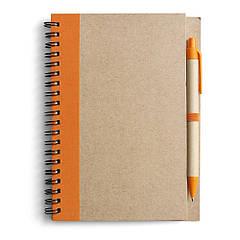 Блокнот для записей с ручкой
