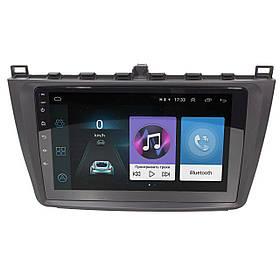 Штатная автомобильная магнитола 9 дюймов Mazda 6 (2008-2014 г.) Android 8.1 Go Wi Fi 4G GPS AM/FM радио Can
