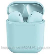 """Беспроводные Bluetooth Наушники """"Apple inPods 12 TWS"""" Blue"""