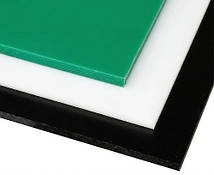 Лист PE-500, 15x1000x2000мм, Листовой полиэтилен ПЭ500 (ВМПЭ) Черный