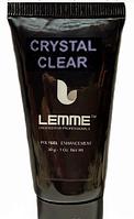Полигель (акригель) Lemme Crystal Clear - кристально-прозрачный, 30 мл