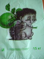 "Пакет Майка-4 30х51  ""Ежик"" (100шт)"