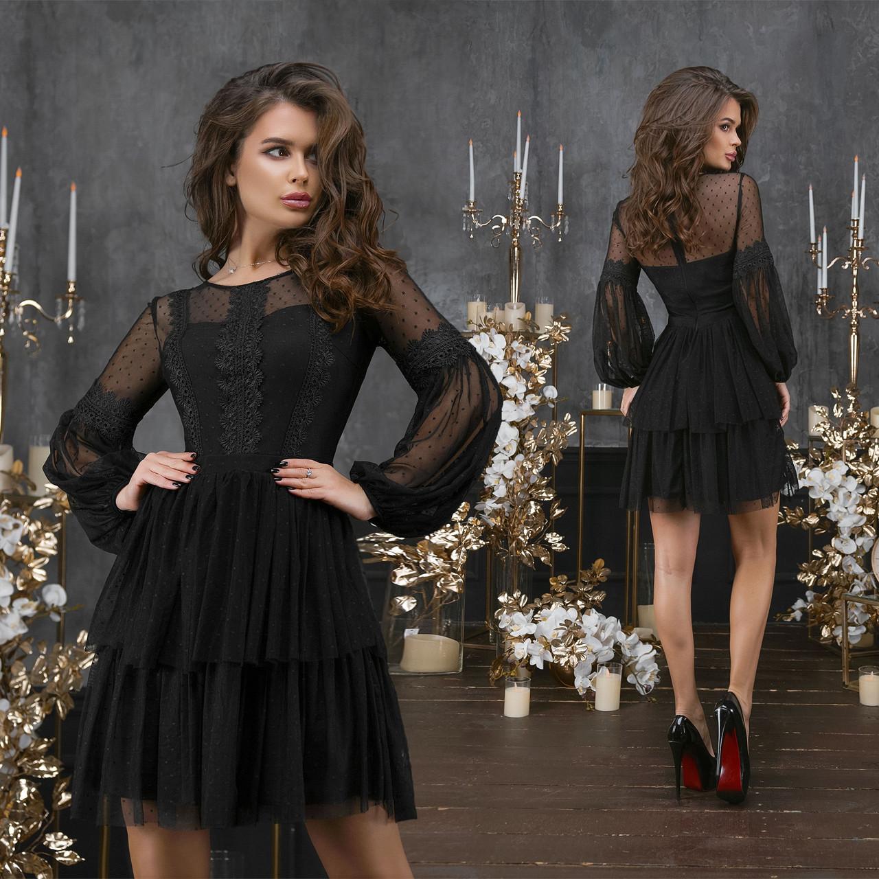 Коктейльное платье ет7307