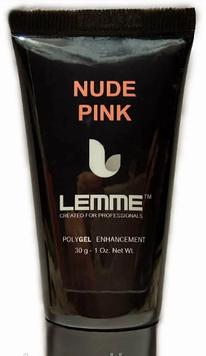 Полигель (акригель) Lemme Nude Pink - камуфляж, 30 мл