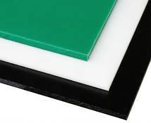 Лист PE-500, 40x1000x2000мм, Листовой полиэтилен ПЭ500 (ВМПЭ) Зеленый