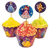 Топперы для кексов Принцессы (Дисней) 6 041116-005