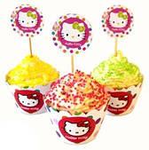 Топпери для кексів Hello Kitty 6 041116-006