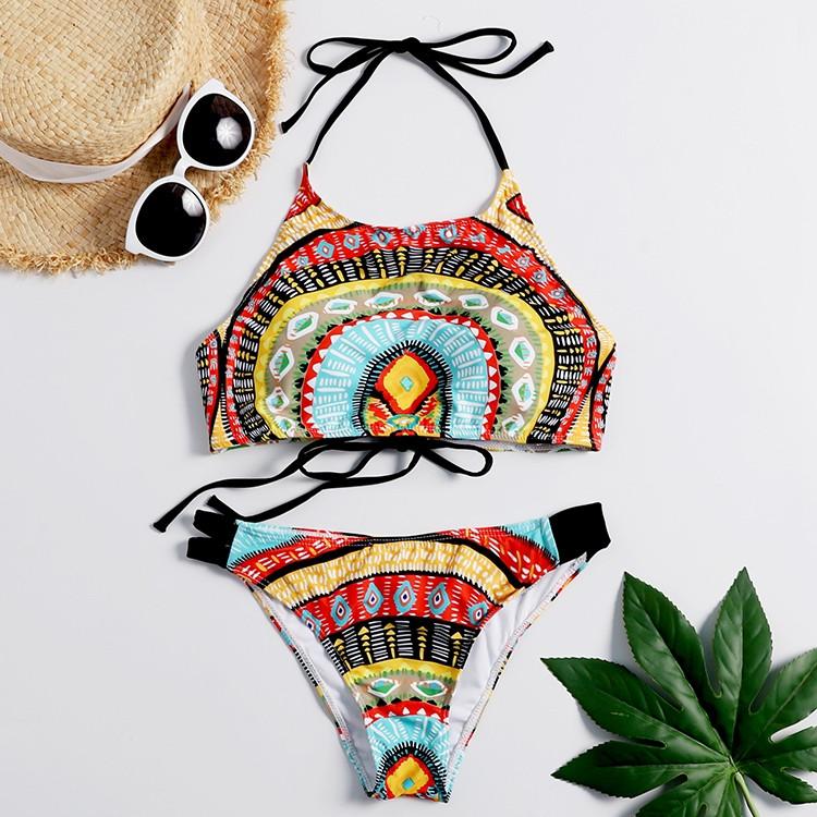"""Купальник женский """"Bikini Top"""" разноцветный"""