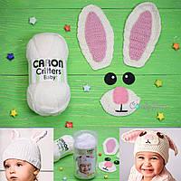 Набор для вязания_Сaron Critters_Rabbit_Белый