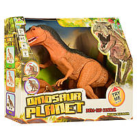 Динозавр RS6122A (24шт) р/у, 53см, звук, свет, ходит, на бат-ке, в кор-ке, 36-30-12см