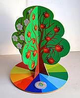 Настольное Обучающее пособие Дерево Времена года