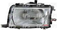 Фара левая Audi 80 91-94 H4 механический/электрический корректор (DEPO)