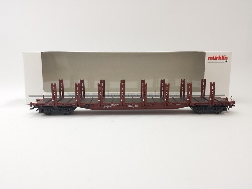 Marklin 4771 модель 4х осной грузовой платформы для перевозки большегабаритных грузов, масштаба 1:87, H0