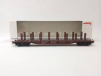 Marklin 4771 модель 4х осной грузовой платформы для перевозки большегабаритных грузов, масштаба 1:87, H0, фото 1