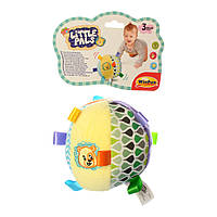 Мягкая игрушка 0180-NI мяч, погремушка, шуршалка, 12-12см