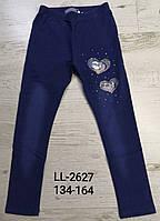 Лосины с имитацией джинсы для девочек Sincere, 134-164 pp. Артикул: LL2627
