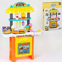 """Игровой набор 36778-111 Магазин """"Фастфуд"""" 35 элементов, продукты, в коробке"""