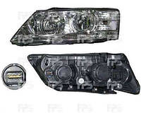 Фара левая Hyundai Sonata 08- электрокорректор H7+H1 (DEPO)