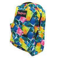 Рюкзак с карманом Мозаика 42х30х13см