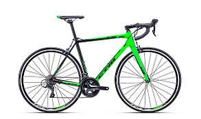 Велосипед CTM Blade 1.0 (matt black/reflex green) 2018 года; 56 ростовка