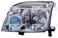 Фара левая Nissan X-TRAIL -07 механический корректор h4- (DEPO)