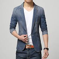 Мужской джинсовый пиджак. Модель 0505, фото 1