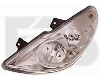 Фара левая Renaultault Master, Opel Movano 10- с функцией доосвещения указателя (DEPO)