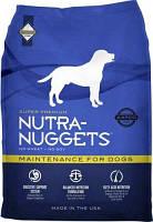 Nutra Nuggets (Нутра Нагетс)  Maintenance  Корм для взрослых собак 15 кг