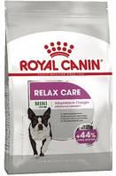 Royal Canin Mini Relax Care корм для собак мелких пород при стрессе 3 кг