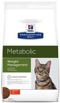 Лечебный корм для кошек Hill's Metabolic при ожирении и лишнем весе 4 кг