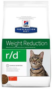 Hill's R/D Лечебный корм для кошек при ожирении и избыточном весе 5 кг
