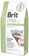 Brit (Брит) VD Diabets Лечебный корм для кошек при сахарном диабете 2 кг