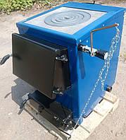 Котли-плити твердопаливні БілЕко-10П на вугіллі, брикетах, дровах, фото 1