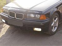 Мухобойка +на капот  BMW 3 серии (36кузов) с 1991-1998 г.в. (БМВ 3) Vip Tuning