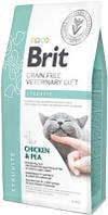 Brit (Брит) VD Struvite Лечебный корм для кошек при мочекаменной болезни 2 кг