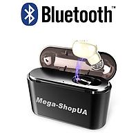 Беспроводные Bluetooth наушники X8 Mono TWS. Бездротові вакуумні навушники. Беспроводні блютуз блютус наушники, фото 1
