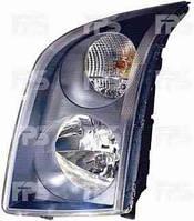 Фара левая VW CRAFTER 06-11 механический/электрический корректор H7+H7 (DEPO)