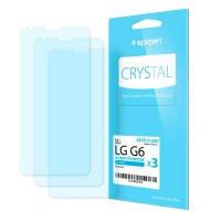 Защитная пленка Spigen Crystal для LG G6 (3 пленки)