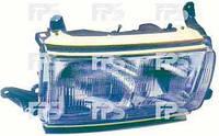Фара левая Toyota Land Cruiser J80 хромированные полоски (DEPO)
