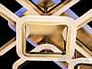 Потолочная LED-люстра с диммером и подсветкой, 100W MX2400/6+2S BR LED 3color dimmer, фото 4
