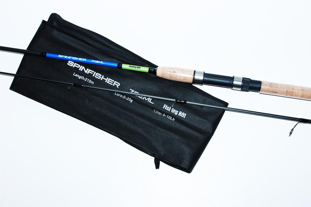 Спінінг Spinfisher (Fishing ROI) - 2.1 0м.(тест 3-15 р.)