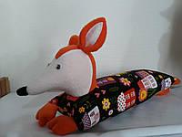Подушка валик ЛИСА, фото 1